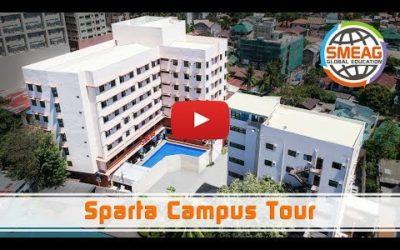 [フィリピン 英語 留学] SMEAG 語学学校 / 短期留学: Sparta Campus Tour 2019 (Long)