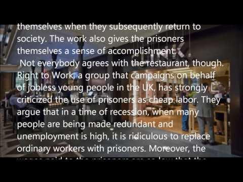 Prisoner Restaurants  英検準1級 長文 聞き流し シャドーウィング 同時通訳訓練