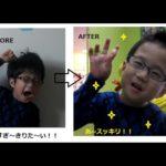 せい☆カナダで初めての散髪をする☆子供の海外生活 Sei's first time cutting his hair in Canada.