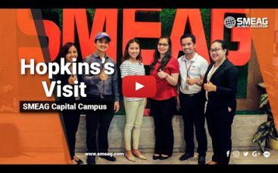 [フィリピン 英語 留学] SMEAG 語学学校 / 短期留学 : Hopkins's Visit