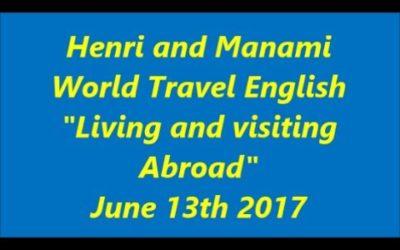 20170613 ワールドトラベルイングリッシュ(世界旅行英会話)海外旅行と海外在住の違い