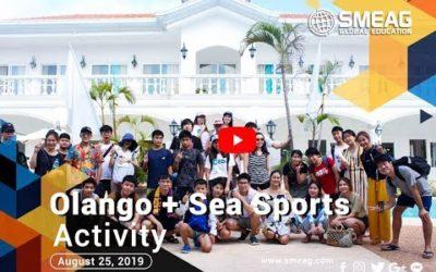 [フィリピン 英語 留学] SMEAG 語学学校 / 短期留学 : Olango + Sea Sports Activity  08-25-19
