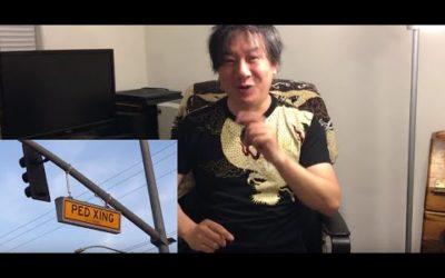 アメリカ生活 PEDとXING 日本人の英語系Youtuberが教えない英語 海外旅行留学の参考に