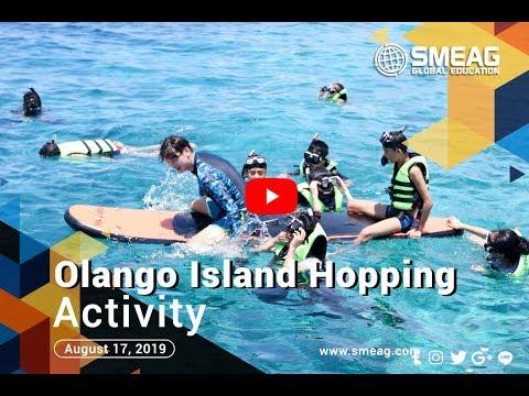 [フィリピン 英語 留学] SMEAG 語学学校 / 短期留学 :Olango Island Hopping Actvity 08-17-19