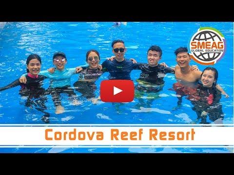 [フィリピン 英語 留学] SMEAG 語学学校 短期留学 Cordova Reef Resort