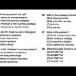 TOEIC® Online Practice Test - part 4 test 1