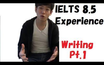 IELTS 8.5 Experience 【IELTS 8.5取得!ライティング編パート1】