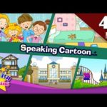Speaking Cartoon | 45 minutes Kids Dialogues | Easy conversation | Learn English for Kids