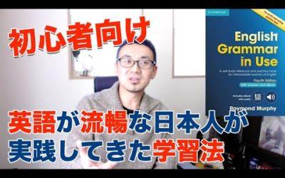 【初心者向け】英語が流暢な日本人が実践してきた英語学習法【発音トレーナーDr.D】
