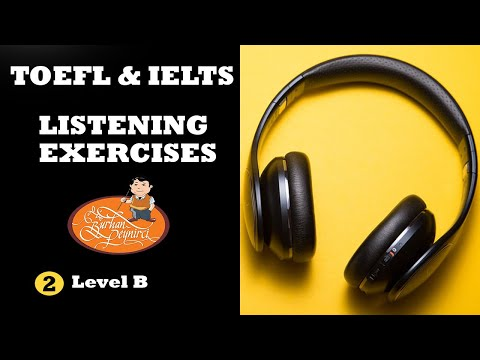 TOEFL & IELTS – Listening Practice Tests with Answers – Easy English Lesson