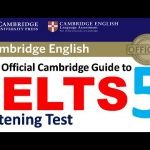 Listening Practice Test 5 with Answers | The Official Cambridge Guide to IELTS 2020