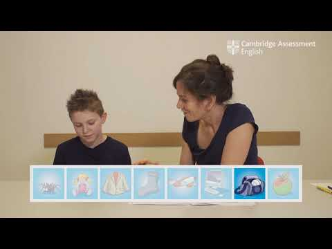 Pre A1 Starters speaking test – Tommaso   Cambridge English
