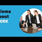 IELTS Speaking Practice Live Lessons – IDIOMS and idiomatic expressions about WORK